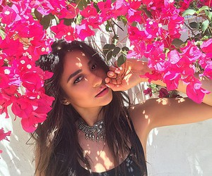shay mitchell, flowers, and pretty little liars image