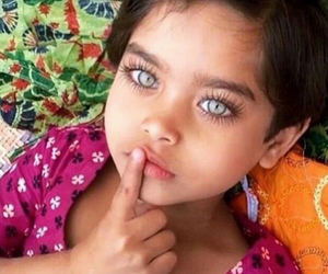 eyes, beautiful, and kids image