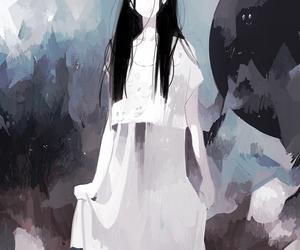 art and anime girl image