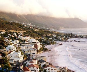 south africa, beach, and sea image