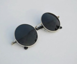 black, sunglasses, and grunge image
