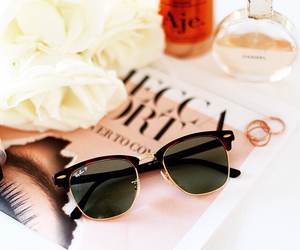 chic, glasses, and girl image