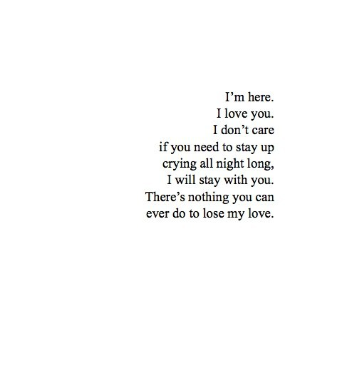I am here for you❤❤ on We Heart It