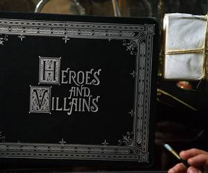 once upon a time and heroes and villains image