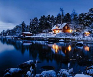 paradise, silence, and snow image