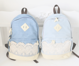 cute, backpack, and bag image