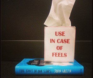 feel, tfios, and book image