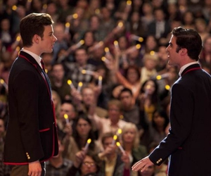 glee, chris colfer, and blaine anderson image