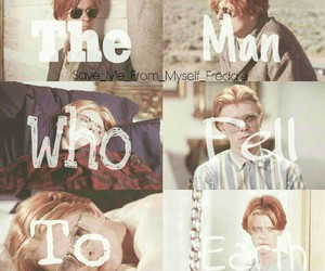 david bowie, movie, and the man who fell to earth image