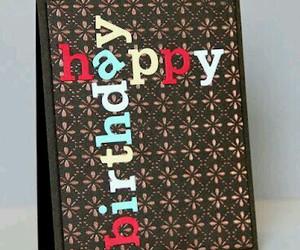 birthday, card, and happy birthday image