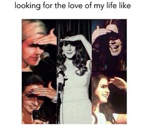 looking for, love of my life, and lana del rey image
