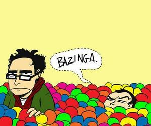 bazinga, sheldon, and the big bang theory image