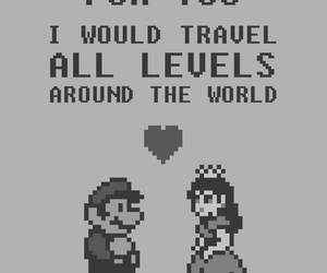 love, mario, and game image