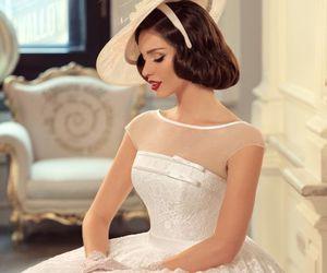 beautiful, bridal, and retro image
