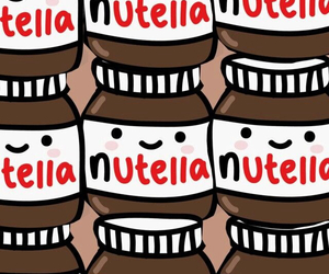 nutella and wallpaper image