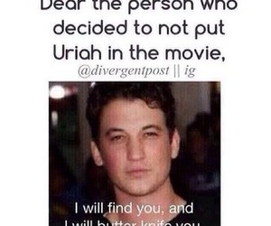 divergent, uriah, and peter image