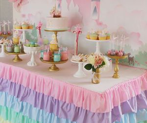 beautiful, birthday party, and pink image