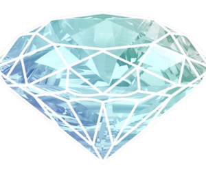 diamond and blue image