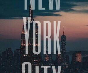 city, new york, and hipster image