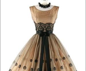dress, fashion, and vintage image