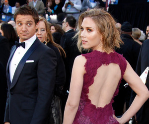 Scarlett Johansson, jeremy renner, and black widow image