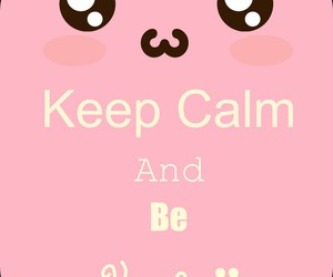 kawaii and keep calm image