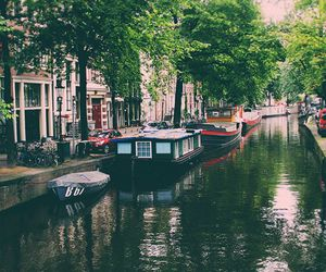 amsterdam, place, and travel image