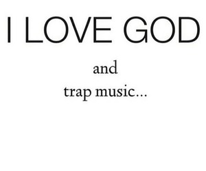 god, love, and music image