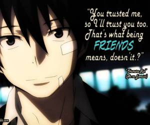anime, quote, and friends image