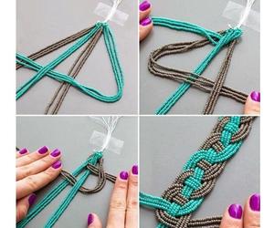 diy, bracelet, and necklace image