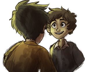 fan art, promise, and percy jackson image