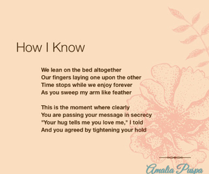 poetry, love, and poem image