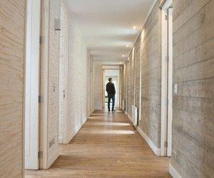 wooden flooring, estudio apulso, and sebastian aedo image