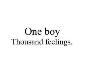 love, boy, and feelings image