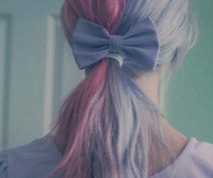 beautiful hair, hair, and pink hair image