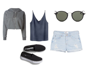 casual, girl, and style image