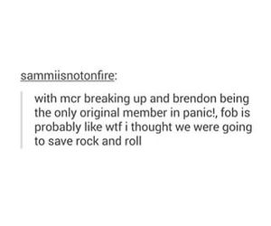fall out boy, panic! at the disco, and my chemical romance image