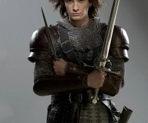 prince caspian, narnia, and sword image