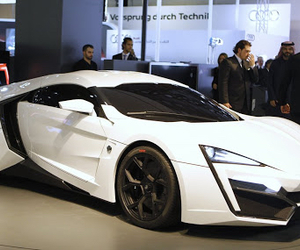 car, white, and fast image