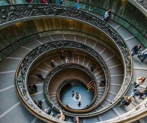 italy, rome, and stairs image