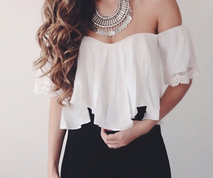 beautiful, black, and brunette image