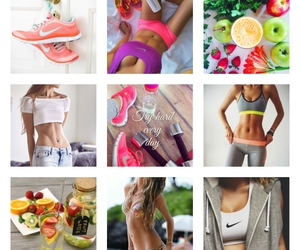 fit, work out, and healthy lifestyle image