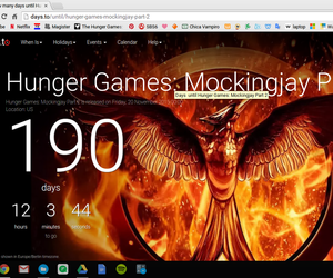 countdown, mockingjay, and waiting... image