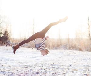 gymnastics and winter image