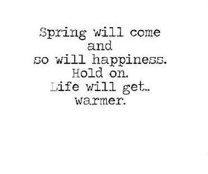 spring, happiness, and life image