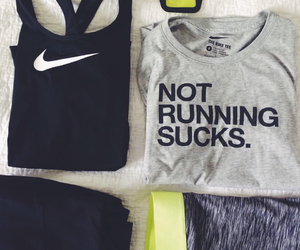 nike, clothes, and exercise image