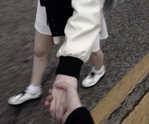 couple, grunge, and love image