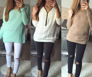 fashion, girls, and outfits image