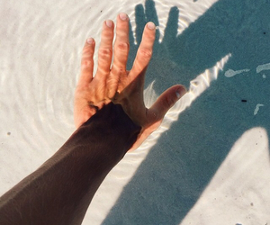 arm, beach, and clear image