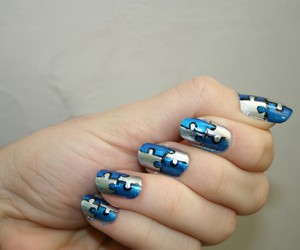 swagg, puzzel, and nail art vernie image